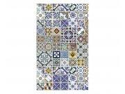 Vliesové fototapety na zeď Portugalské dlaždice | MS-2-0275 | 150x250 cm Fototapety vliesové