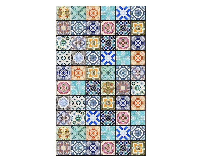 Vliesové fototapety na zeď Starobylé kachličky | MS-2-0276 | 150x250 cm - Fototapety vliesové