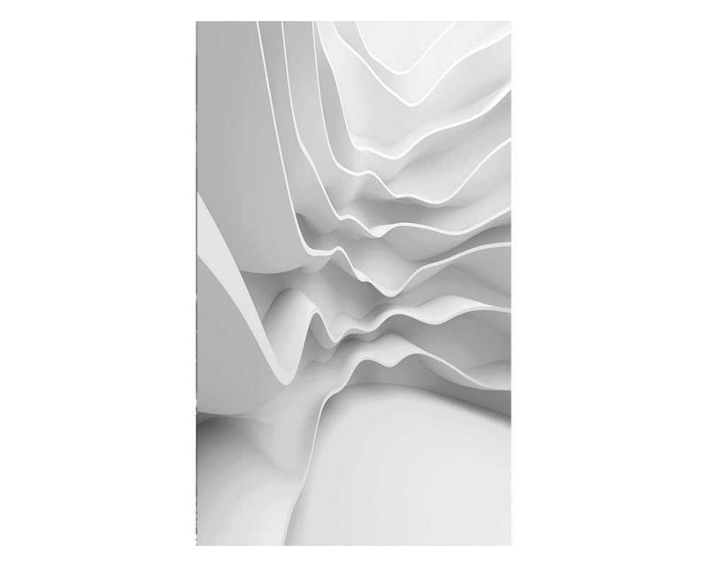 Vliesové fototapety na zeď 3D futuristická vlna | MS-2-0295 | 150x250 cm - Fototapety vliesové