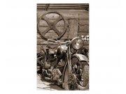 Vliesové fototapety na zeď Starobylá garáž | MS-2-0319 | 150x250 cm Fototapety vliesové