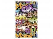 Vliesové fototapety na zeď Graffiti | MS-2-0322 | 150x250 cm Fototapety vliesové