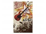 Vliesové fototapety na zeď Červená kytara | MS-2-0324 | 150x250 cm Fototapety vliesové