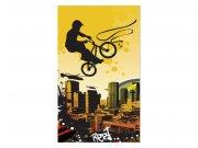 Vliesové fototapety na zeď Cyklisti | MS-2-0326 | 150x250 cm Fototapety vliesové