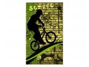 Vliesové fototapety na zeď Zelené kolo | MS-2-0328 | 150x250 cm Fototapety vliesové
