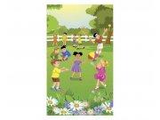 Vliesové fototapety na zeď Děti na zahradě | MS-2-0343 | 150x250 cm Fototapety vliesové