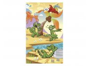 Vliesové fototapety na zeď Krokodýlci | MS-2-0344 | 150x250 cm Fototapety vliesové
