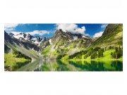Panoramatické vliesové fototapety na zeď Jezero | MP-2-0062 | 375x150 cm Fototapety vliesové