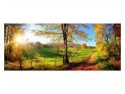 Panoramatické vliesové fototapety na zeď Louka | MP-2-0066 | 375x150 cm Fototapety vliesové