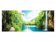 Panoramatické vliesové fototapety na zeď Relax v lese | MP-2-0085 | 375x150 cm Fototapety vliesové