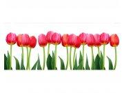 Panoramatické vliesové fototapety na zeď Tulipány | MP-2-0126 | 375x150 cm Fototapety vliesové