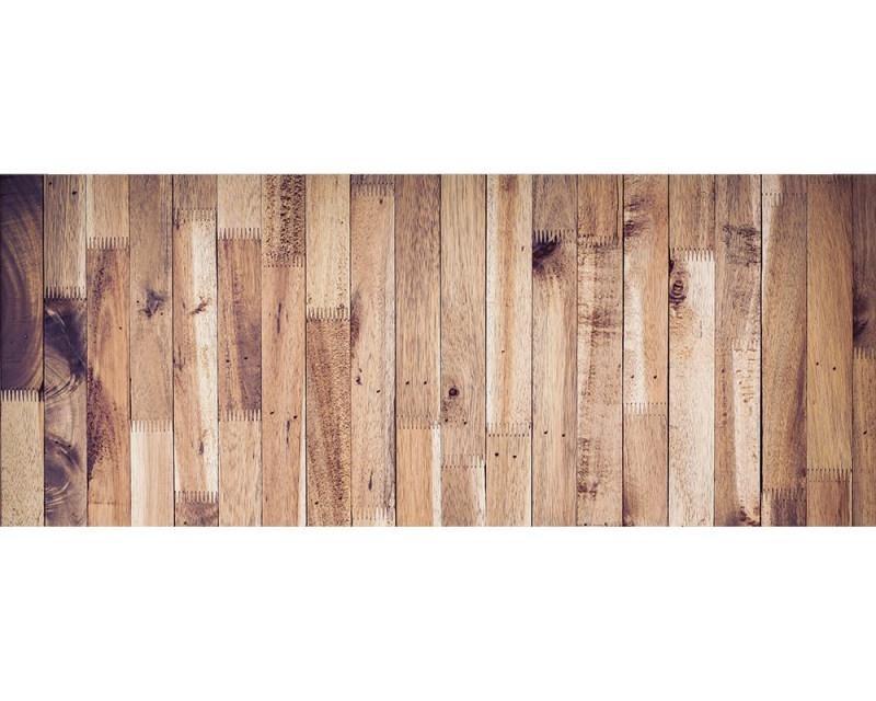 Panoramatické vliesové fototapety na zeď Dřevěná stěna | MP-2-0163 | 375x150 cm - Fototapety vliesové