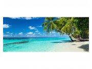 Panoramatické vliesové fototapety na zeď Tropický ráj | MP-2-0215 | 375x150 cm Fototapety vliesové