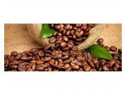 Panoramatické vliesové fototapety na zeď kávová zrna | MP-2-0244 | 375x150 cm Fototapety vliesové