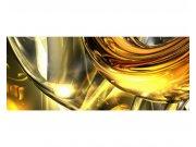 Panoramatické vliesové fototapety na zeď Zlatý abstrakt | MP-2-0291 | 375x150 cm Fototapety vliesové