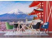 Vliesová fototapeta Japonská hora FTNXXL-1238 | 360x270 cm Fototapety vliesové