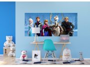 Vliesová fototapeta Frozen FTDNH-5384 | 202x90 cm Fototapety pro děti