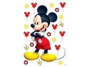 Samolepicí dekorace Mickey Mouse DK-1725, rozměry 42,5 x 65 cm Dětské samolepky na zeď