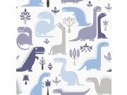 Dětská vliesová tapeta Dinosauři LL-10-02-1 | Jack´N Rose by Woodwork | lepidlo zdarma Tapety Vavex - Tapety Grandeco - Tapety Jack´N Rose II by Woodwork