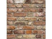 Flis periva tapeta za zid FC2502, Cigle | Ljepilo besplatno Na skladištu