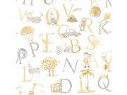 Dětská vliesová tapeta na zeď LO2302 | Little Ones | lepidlo zdarma Tapety Vavex - Tapety Grandeco - Tapety Little ones