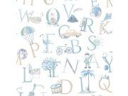 Dětská vliesová tapeta na zeď LO2301 | Little Ones | lepidlo zdarma Tapety Vavex - Tapety Grandeco - Tapety Little ones
