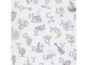 Dětská vliesová tapeta na zeď LL3104 | Jack´N Rose by Woodwork | lepidlo zdarma Tapety Vavex - Tapety Grandeco - Tapety Jack´N Rose II by Woodwork