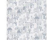 Dětská vliesová tapeta na zeď LL-05-07-4 | Jack´N Rose by Woodwork | lepidlo zdarma Tapety Vavex - Tapety Grandeco - Tapety Jack´N Rose II by Woodwork