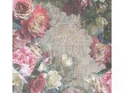 Vliesová obrazová tapeta 30609 | 300 x 280 cm | La Scala | Rivièra Maison | lepidlo zdarma Tapety BN international - Tapety Rivièra Maison