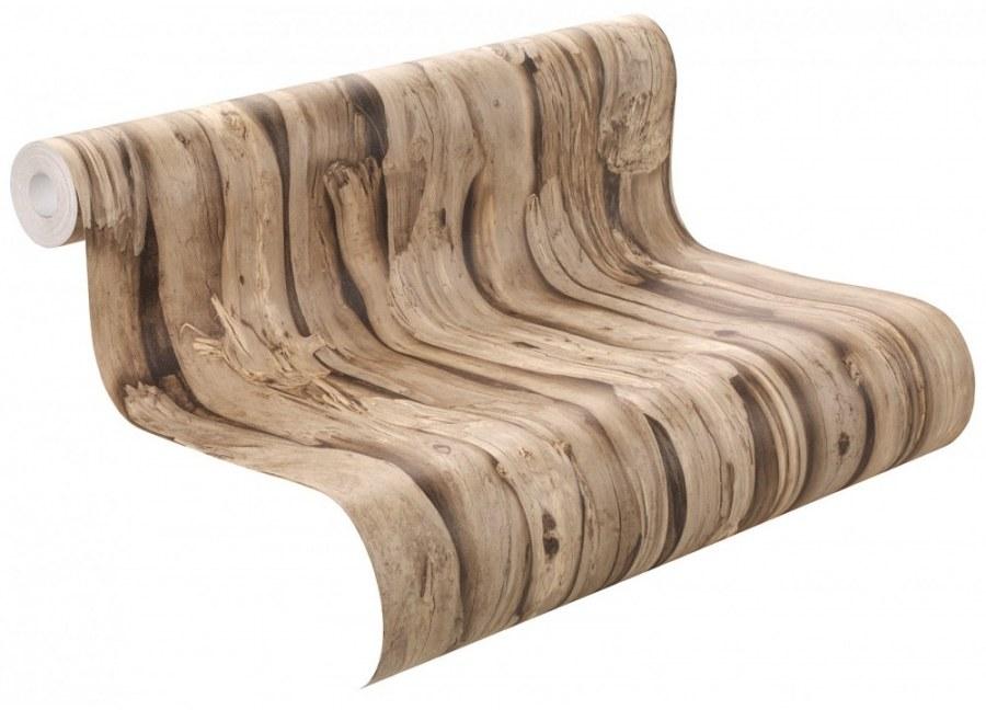 Tapeta African Queen dřevěné desky 473216 - Výprodej