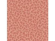Vliesová tapeta Freundin 465020, růžová s motivem gepardí kůže Tapety Rasch - Tapety Freundin