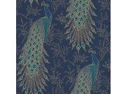 Papírová tapeta Rasch Pávi Sansa 215700 | Lepidlo zdarma Tapety Rasch - Tapety Sansa