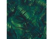 Vliesová tapeta Rasch Palmové listy Sansa 822908 | Lepidlo zdarma Tapety Rasch - Tapety Sansa