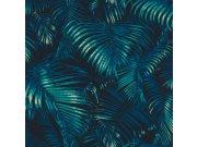 Vliesová tapeta Rasch Palmové listy Sansa 822915 | Lepidlo zdarma Tapety Rasch - Tapety Sansa