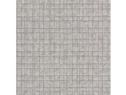 Vliesová tapeta mřížkovaný vzor Kerala 551327 | Lepidlo zdarma Tapety Rasch - Tapety Kerala