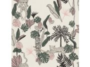 Vliesová tapeta Club Botanique 540338 | Lepidlo zdarma Tapety Rasch - Tapety Club Botanique