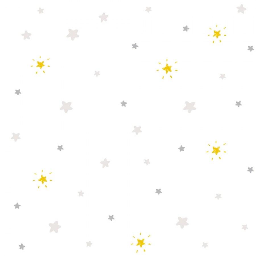 Dětská vliesová tapeta hvězdy Sweet Dreams ND21143 | 0,53 x 10 m | Lepidlo zdarma - Tapety Sweet Dreams