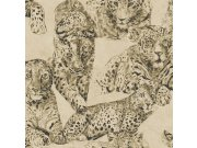 Luxusní vliesová tapeta Blooming BL22721 | Panther | 0,53 x 10 m | Lepidlo zdarma Tapety Vavex - Tapety Decoprint - Tapety Blooming