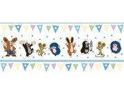 Dětská vliesová bordura Krtek 6120001 | 23,5 cm x 3 m Dětské tapety - Tapety Krteček