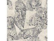Luksuzna zidna flis tapeta Blooming BL22720 | Panther | 0,53 x 10 m | Ljepilo besplatno Decoprint