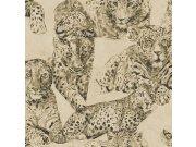 Luksuzna zidna flis tapeta Blooming BL22721 | Panther | 0,53 x 10 m | Ljepilo besplatno Decoprint