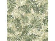 Luksuzna zidna flis tapeta Blooming tropické listy BL22763 | 0,53 x 10 m | Ljepilo besplatno Decoprint
