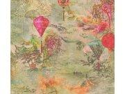 37466-1 Moderan flis tapeta za zid Asian Fusion, 0,53 x 10 m | Ljepilo besplatno AS Création