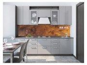 Samolepicí fototapeta do kuchyně Poškrábaná měď KI-260-105 | 260x60 cm Samolepící fototapety - Na kuchyňskou linku