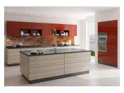 Samolepicí fototapeta do kuchyně Poškrábaná měď KI-350-105 | 350x60 cm Samolepící fototapety - Na kuchyňskou linku