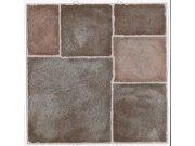 Samolepicí podlahové pvc čtverce terakota kachle 2745049 Samolepící dlažba