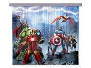 Foto závěs Avengers FCSXL4328 | 180 x 160 cm Závěsy