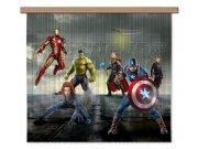 Foto závěs Avengers FCSXL4330 | 180 x 160 cm Závěsy