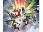 Foto závěs Avengers FCSXL4393 | 180 x 160 cm Závěsy