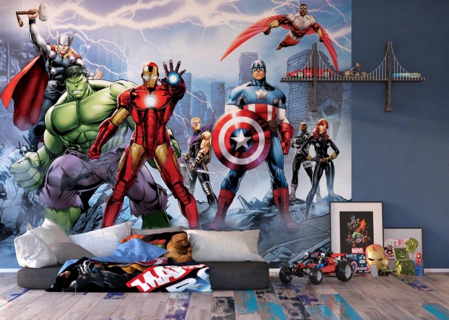 Fototapeta Avengers FTDS2230 | 360x254 cm - Fototapety pro děti