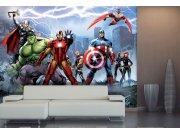 Vliesová fototapeta Avengers FTDNXXL5027 | 360 x 270 cm Fototapety pro děti